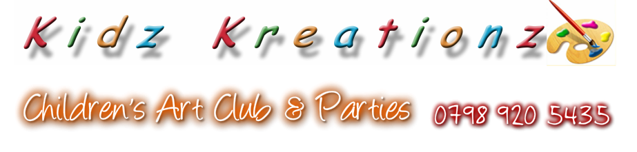 KIDZ KREATIONZ CRAFT CLUB & PARTIES